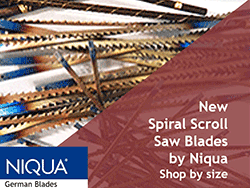 Flying Dutchman Scroll Saw Blades by Niqua | Bear Woods Supply