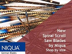 Flying Dutchman Scroll Saw Blades by Niqua | Bear Woods Supply