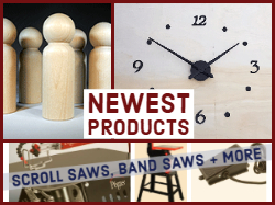 New Clock Parts and Woodworking Supplies