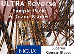 Ultra Reverse blades sample pack
