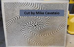 optical illusions scroll saw pattern