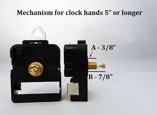 High-Torque Clock Movement | Bear Woods Supply