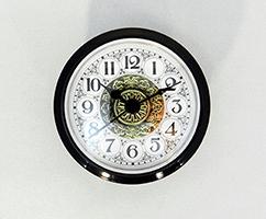 Fancy White Arabic Clock Insert | Bear Woods Supply
