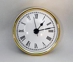 White Roman Premium Clock Insert 2-3/4 inch   Bear Woods Supply
