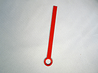 Red hands for time and tide clock movements USA Made | Bear Woods Supply