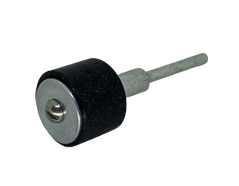 Mandrel for abrasive bands for rotary tools