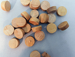 Side Grain Furniture Plugs Maple | Bear Woods Supply