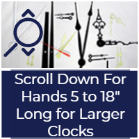 Buy clock hands to make large clocks