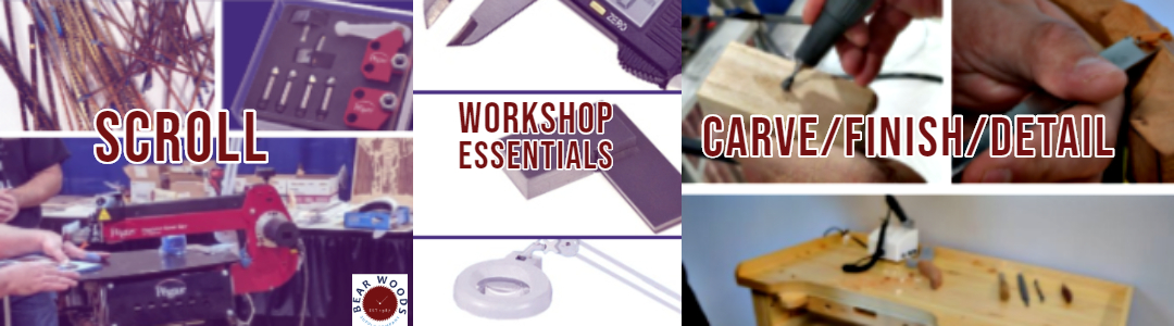 Scroll Saw Supplies, Carving Supplies, Workshop Supplies