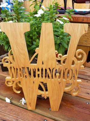 Scroll Saw Patterns Monograms Holz Brothers