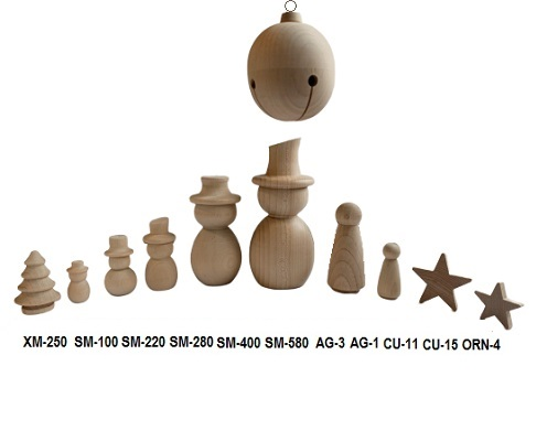 Buy wooden snowman and candle sticks for Christmas   Bear Woods Supply