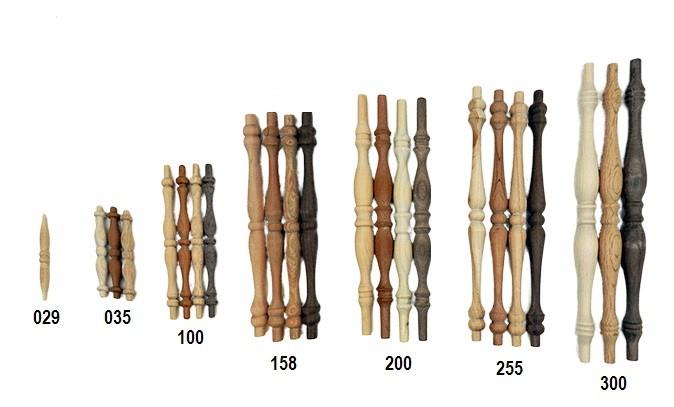 Shop wooden spindles, maple, birch, oak | Bear Woods Supply