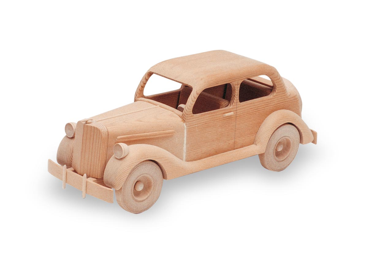 The 1935 Ford 16in. (Woodworking Plan)