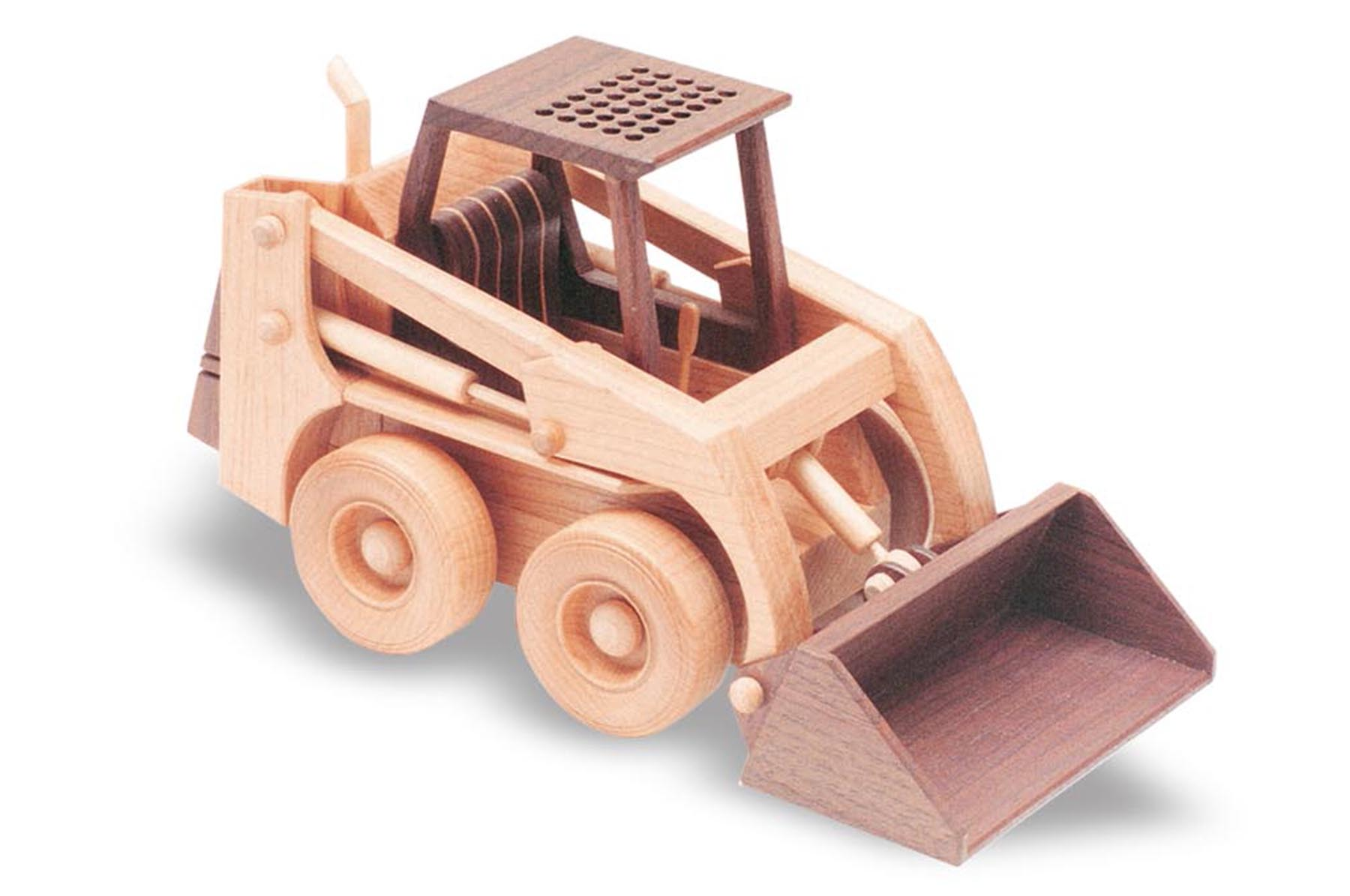 skid-steer loader 10inch (woodworking plan)
