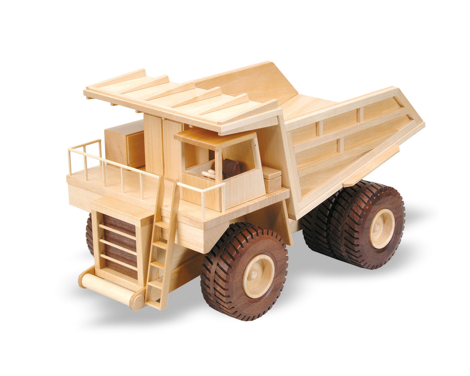 the mining truck 18inch (woodworking plan)