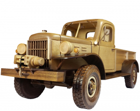 50s Power Wagon Woodworking Pattern | Bear Woods Supply