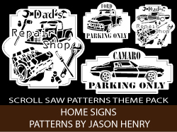Vehicle Sign Patterns Pack by Jason Henry