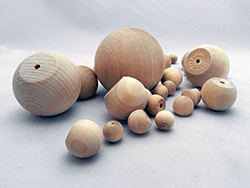 Wooden Ball Knobs | Bear Woods Supply