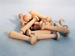 Wooden Shaker Pegs | Bear Woods Supply