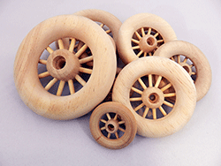 Spoked Wood Wheels | Bear Woods Supply