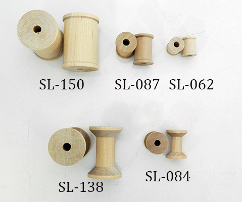 wooden spools, wood spool | Bear Woods Supply