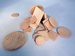 Wooden Tiles and Discs for Crafts | Bear Woods Supply