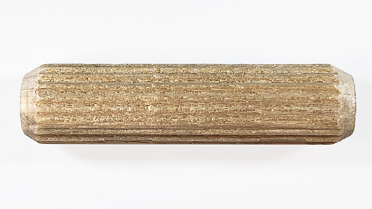 multi groove dowel pins, fluted dowels | Bear Woods Supply
