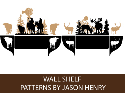 Make Wall Shelves with Scroll Saw Patterns by Jason Henry