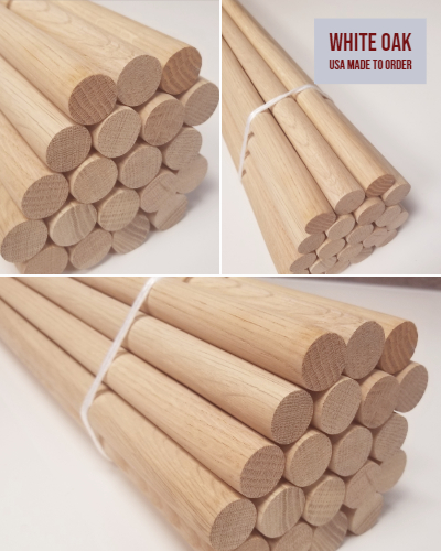 White Oak Dowels
