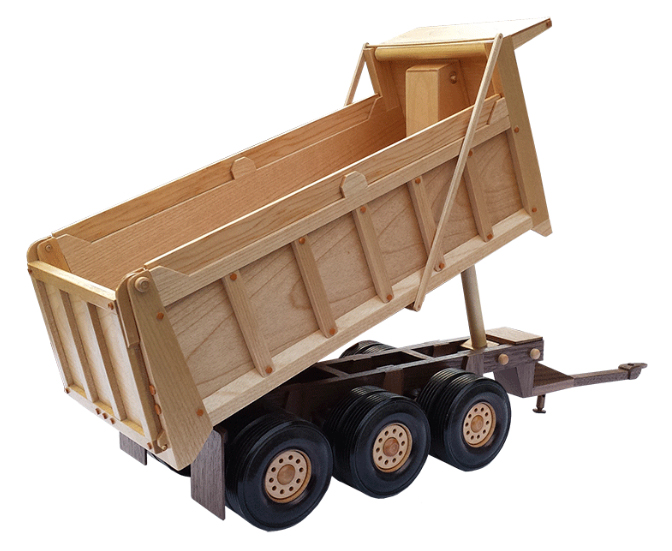 Wooden Trucks Toys And Joys : The heavy pup trailer wooden toy pattern quot