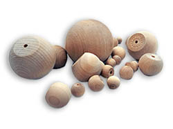 Wooden Ball Knobs