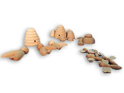 Wooden Animals, Wooden Bugs, Wooden Beehive