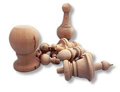Wooden Finials