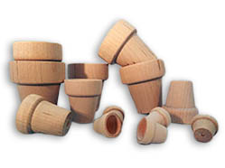 Wooden Flower Pots, Wooden Pails