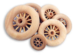 Wooden Spoked Wheels
