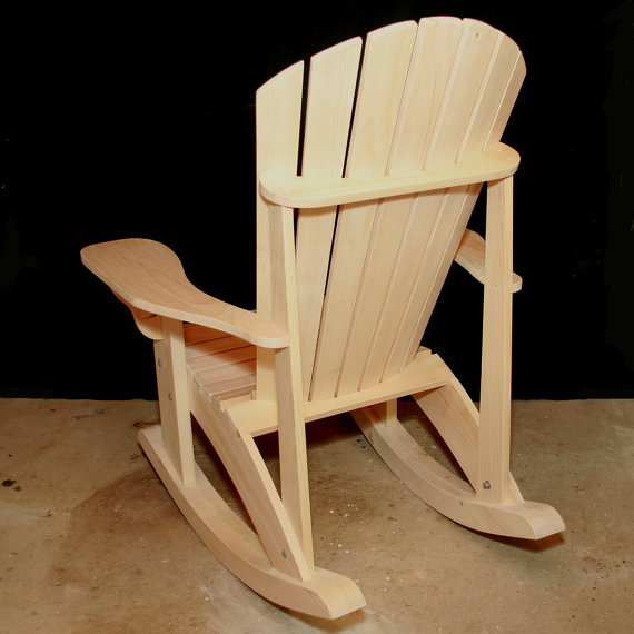 Adirondack Adult Rocking Chair Patterns Downloadable in ...