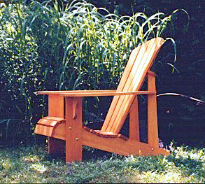 Woodworking Furniture Plans - Adirondack Furniture by Phil Barley