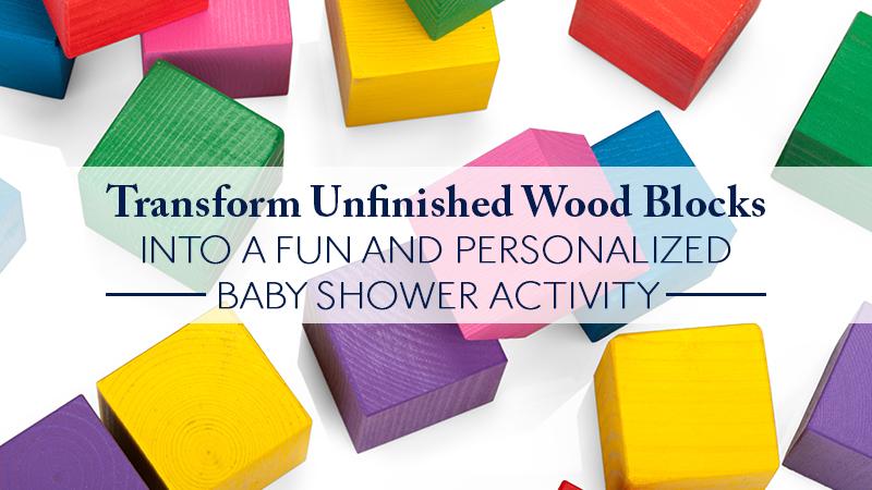 wedding and baby shower craft ideas