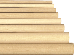 Buy birch dowels and dowel rods | Bear Woods Supply