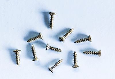Buy Brass Plated Screws | Bear Woods Supply