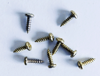 Buy Round head Brass Plated Phillips Screws | Bear Woods Supply