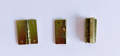 Buy brass plated craft and butt hinges   Bear Woods Supply
