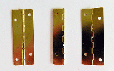 Buy brass plated butt hinges | Bear Woods Supply