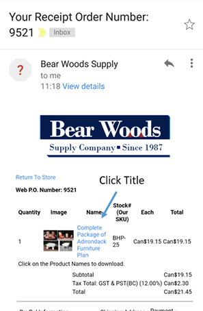 How to download woodworking patterns
