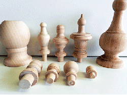 Shop for wooden finials wholesale