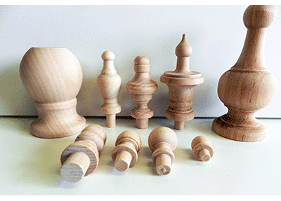 Wood ball knobs buy hardwood ball knobs in many sizes for Wooden finials for crafts