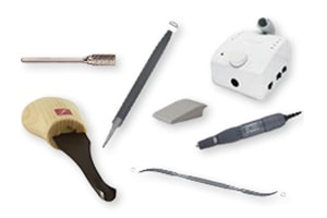 Rotary & Hand Tools for Carving, Finishing, Detailing