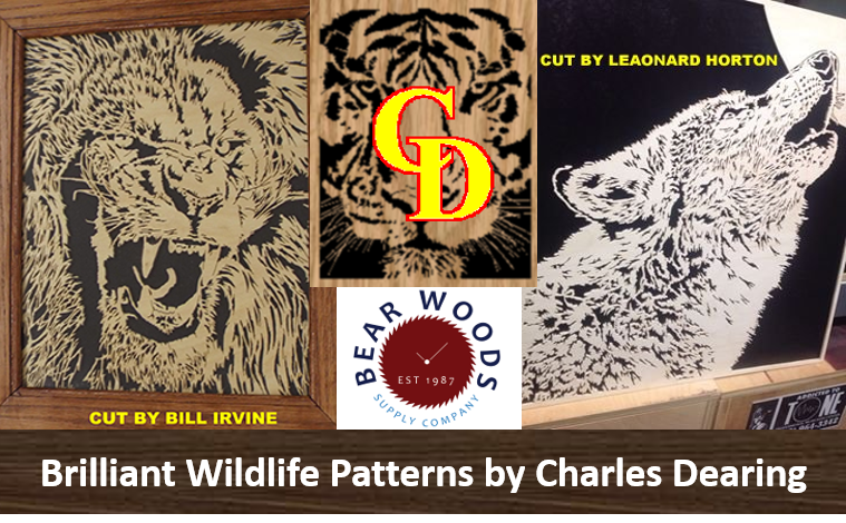 Wildlife Scroll Saw Patterns By Charles Dearing