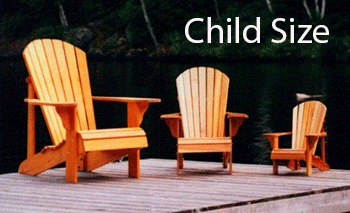Child Size Adirondack Chair Plans - Woodworking plan by Phil Barley