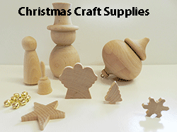 Buy wooden Christmas craft shapes | Bear Woods Supply